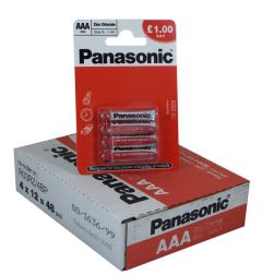 Panasonic - Special Batteries - AAA - Box Of 12 Packets (21)