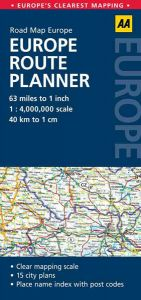 AA - Europe Route Planner