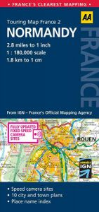 AA - Touring Map France - Normandy