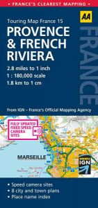 AA - Touring Map France - Provence & French Riviera