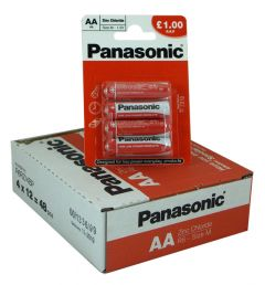 Panasonic - Special Batteries - AA - Box Of 12 (22)