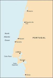 Imray C Chart - Ria de Aveiro to Sines (C49)