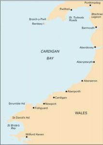 Imray C Chart - Cardigan Bay to Milford Haven to Tremadock Bay (C51)
