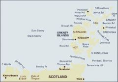 Imray C Chart - Cape Wrath to Wick & The Orkneys Islands (C68)
