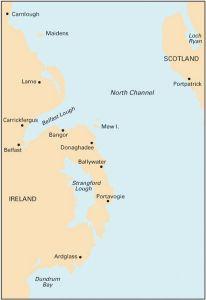 Imray C Chart - Belfast Lough to Strangford Lough (C69)