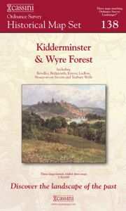 Cassini Box Set - History of Kidderminster & Wyre Forest (1831-1921)