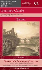 Cassini Old Series - Barnard Castle (1860-1866)