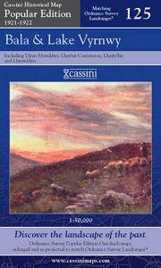 Cassini Popular Edition - Bala & Lake Vyrnwy (1921-1922)