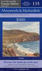 Cassini Popular Edition - Aberystwyth & Machynlleth (1921-1923)