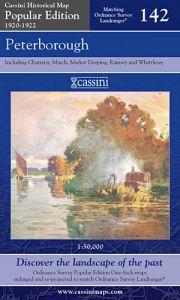 Cassini Popular Edition - Peterborough (1920-1922)