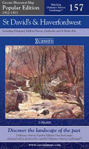 Cassini Popular Edition - St David's & Haverfordwest (1922-1923)