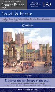 Cassini Popular Edition - Yeovil & Frome (1919)