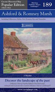 Cassini Popular Edition - Ashford & Romney Marsh (1920-1921)
