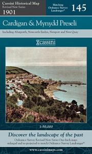 Cassini Revised New - Cardigan & Mynydd Preseli (1901)