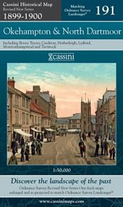 Cassini Revised New - Okehampton & North Dartmoor (1899-1900)