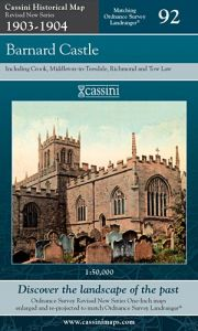 Cassini Revised New - Barnard Castle (1903-1904)