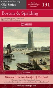 Cassini Old Series - Boston & Spalding (1824)