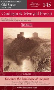 Cassini Old Series - Cardigan & Mynydd Preseli (1819-1834)