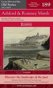 Cassini Old Series - Ashford & Romney Marsh (1813-1819)