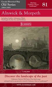 Cassini Old Series - Alnwick & Morpeth (1864-1869)