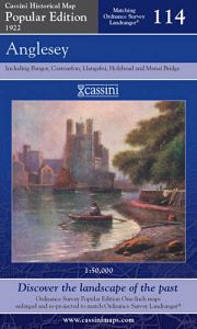Cassini Popular Edition - Anglesey (1922)