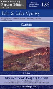 Cassini Popular Edition - Bala & Lake Vyrnwy (1921-1922)