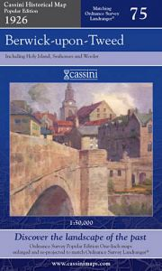 Cassini Popular Edition - Berwick-upon-Tweed (1926)