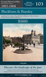 Cassini Revised New - Blackburn & Burnley (1903-1904)