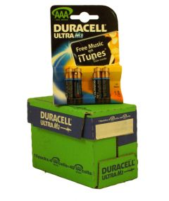 Duracell Ultra Power Batteries - AAA - Box Of 10 Packets (1)