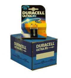Duracell Ultra Power Batteries - 9V - Box Of 10 Packets (5)