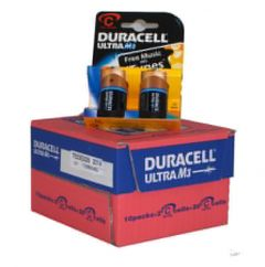 Duracell Ultra Power Batteries - C - Box Of 10 Packets (3)