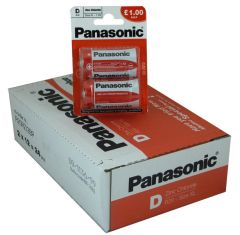 Panasonic - Special Batteries - D - Box Of 12 (24)