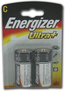 Energizer Ultra+ Batteries - C - Single Pack (2)