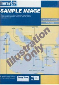 Imray G Chart - Dodecanese & Turkey (G35)
