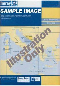 Imray B Chart - Grenada To Tobago & Trinidad Passage (B6 )