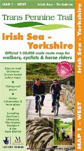 Trans Pennine Trail - Map 1 - West - Irish Sea to Yorkshire