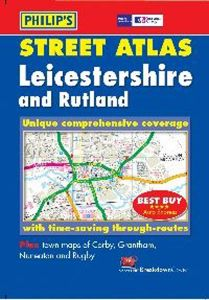 Philips Pocket Street Atlas - Leicestershire