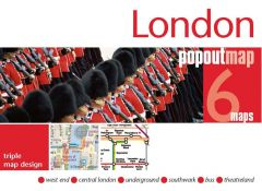 Popout Maps - London Triple