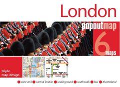 Popout Maps - London Triple