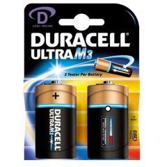 Duracell Ultra Power Batteries - D - Single Pack (2)