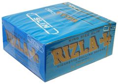 Rizla - King Size - Blue Slim Papers (Box Of 50) (40)