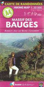 Rando - Massif Des Bauges-Annecy-Aix-les-Bains-Chambery (A4)