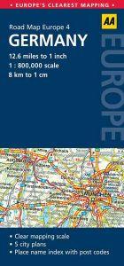 AA - Road Map Europe - Germany