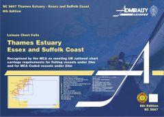 Admiralty Leisure Chart Folio - Essex and Suffolk Coast