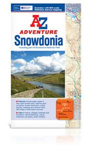 A-Z Adventure Atlas - Snowdonia