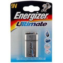 Energizer Ultimate Batteries - 9V - Single Pack