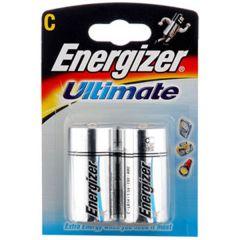 Energizer Ultimate Batteries - C - Single Pack (2)