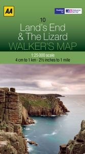 AA - Walker's Map 10 - Lands End & The Lizard