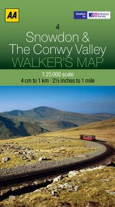 AA - Walker's Map 4 - Snowdon & The Conwy Valley