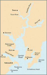 Imray Y Chart - River Fal (Y58)